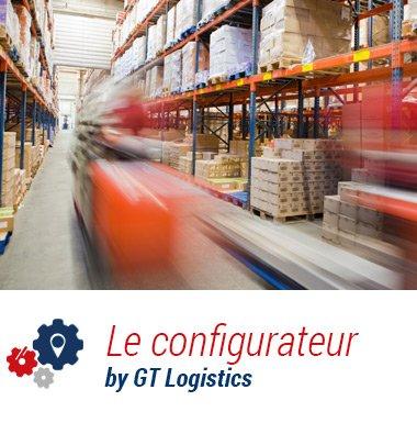 Configurez votre logistique avec le configurateur GT Logistics