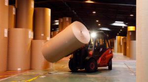 Industrie papetière et logistique